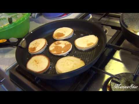 Готовлю завтрак. Самые быстрые и вкусные оладушки.
