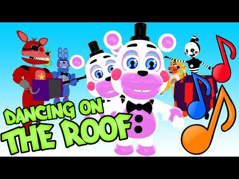 DANCING ON THE ROOF SONG! - Playable Animatronics 13! - Gmod Five Nights At Freddy's