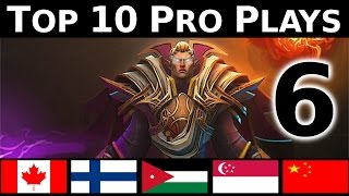 Dota 2 Top 10 Pro plays 6 - GODLIKE PLAYS !
