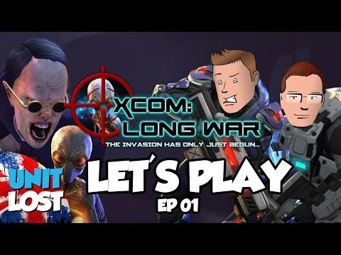 Let's Play XCOM: Long War - Fight For Earth 2! Part 1