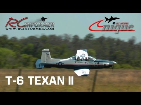 Unique Models T-6 TEXAN II / PC-9 Flight Review