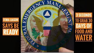 Warning From FEMA Liaison to GET READY!