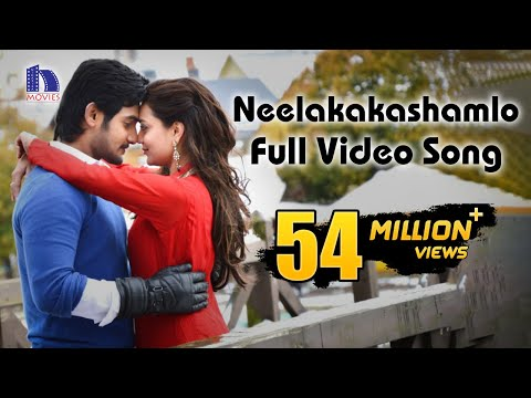 Sukumarudu Full Video Songs - Neelakashamlo Song - Aadi Nisha...