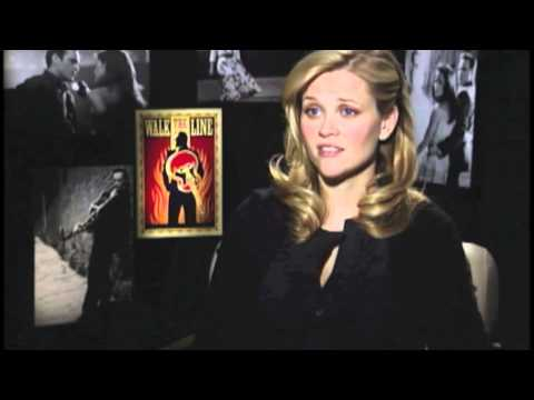 Reese Witherspoon talks about Walk the Line