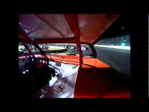 I 55 Raceway Sportsman Feature In Car Cam Mike Armstrong #168