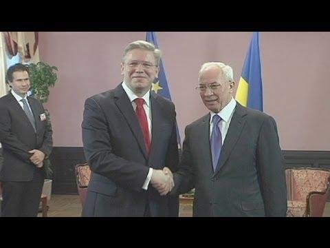 Ukraine: Annäherung an EU hat ihren Preis