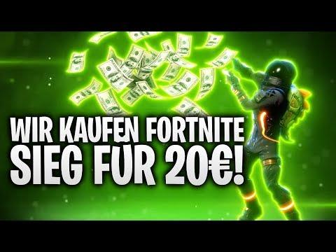 FORTNITE SIEG FÜR 20€ GEKAUFT!