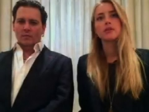 Johnny Depp, Amber Heard Apologize in Court