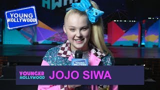 JoJo Siwa Plays Reveal That Seat at the Kids' Choice Awards!