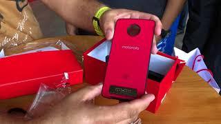 Motorola Moto z3 play  - Unboxing Brasil