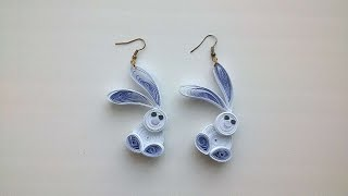 How To Make Funny Bunny Earrings - DIY Crafts Tutorial - Guidecentral