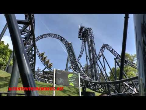 The Smiler roller-coaster opening day footage 31/5/2013 at Alton Towers in HD