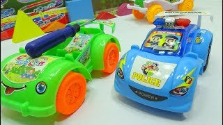Baby Video - How to dismantle police car and sport car | video for kids