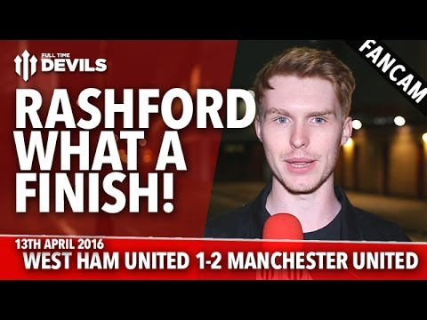 Marcus Rashford: What A Finish! | West Ham United 1-2 Manchester United | REVIEW