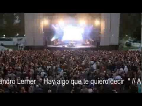 Alejandro Lerner ,hay algo que te quiero decir