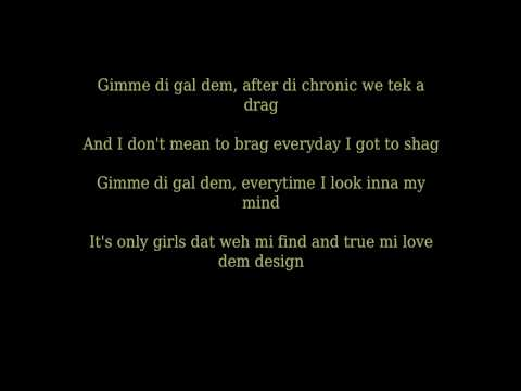 Sean Paul - Like Glue Lyrics Hd