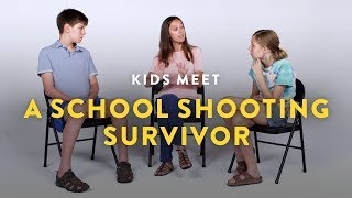 Download Lagu Kids Meet a School Shooting Survivor | Kids Meet | HiHo Kids Gratis STAFABAND