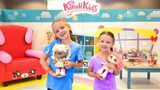 Madison's First Day of Kindergarten With KindiKids! Kindi Kids School in Real Life!