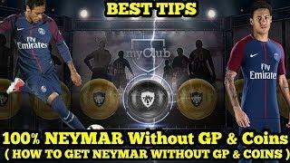 100% BLACKBALL NEYMAR WITHOUT GP & COINS !!! Neymar Tanpa GP & Coins !!! #Pes2018Mobile