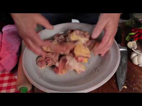 Курица с чили, чесноком и розмарином от Дженнаро Контальдо