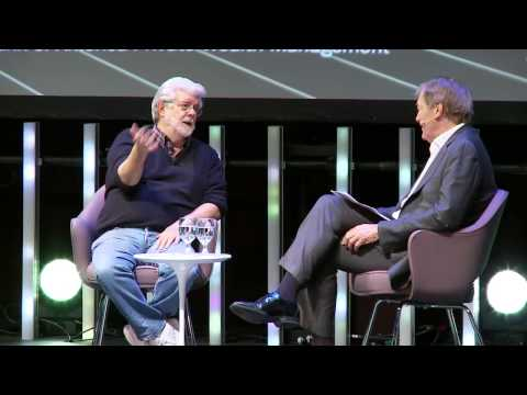 George Lucas in conversation with Charlie Rose