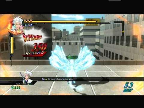 Bleach Soul Resurreccion/Ignition - Tōshirō Hitsugaya Gameplay