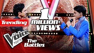 The Battles : Hesara Bandara V Charith Mihiranga | O Re Piya | The Voice Teen Sri Lanka