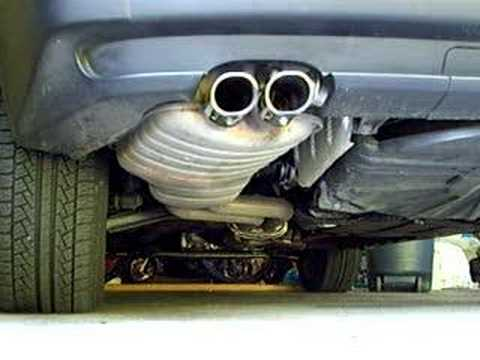 Bmw X3 3 0 Inline 6 Exhaust Stock W Chrome Tip Youtube