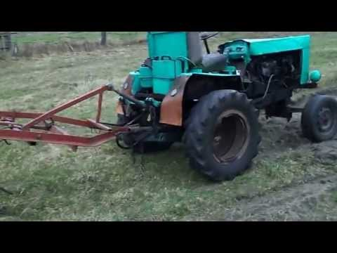 Трактор на гусеницах своими руками