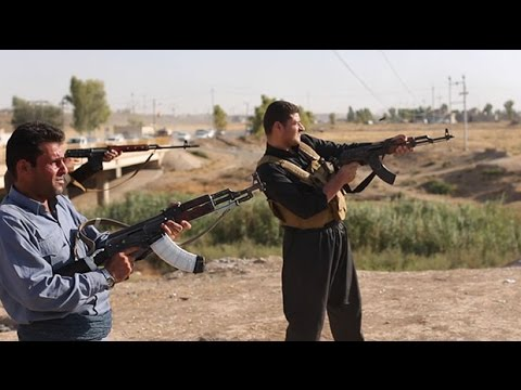 Iraq: Kurdish forces fightback against IS in Gwer