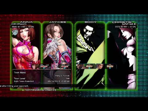 Tekken Tag Tournament 2 : xXWillXPowerXx ( Jaycee X Anna ) VS SuPeR GeE 81 ( Eddy X Christie )