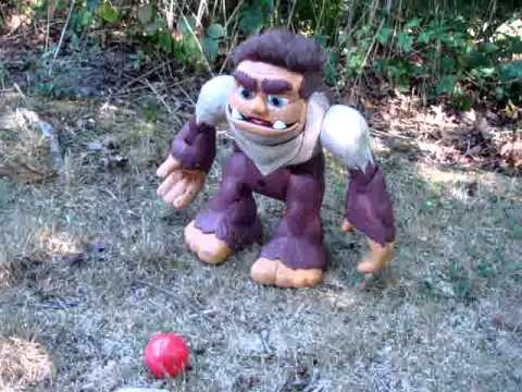 Fisher Price Imaginext Remote Control Bigfoot In Action!