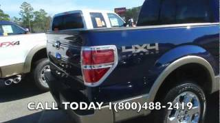 2012 FORD F-150 REVIEW * LARIAT SUPERCREW 4X4 * $98 OVER INVOICE @ RAVENEL FORD * ECOBOOST