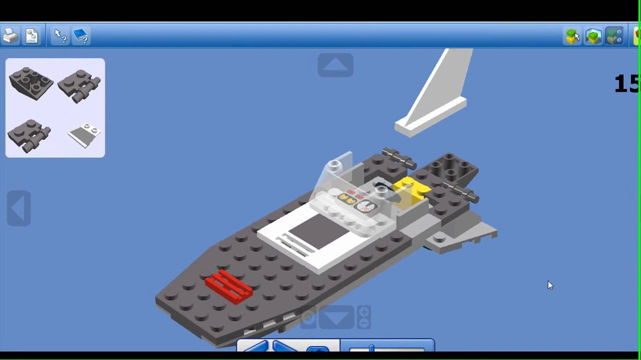 How to make a lego boat and car fashion