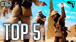 Battlefield 1 Top 5 LUCKIEST Plays (Split Collateral, Skydive Sniper, Double Bomber Snipe) WBCW #162