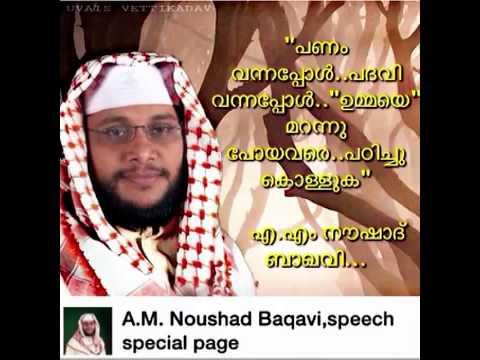 Nowshad Baqavi New Islamic Speech video