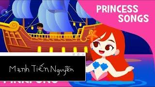 Nàng tiên cá nhỏ | Bài hát công chúa - Âm nhạc trẻ em