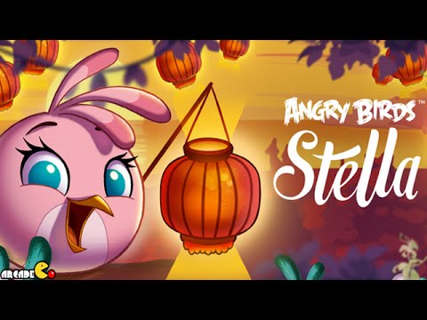 Angry Birds Stella - Chinese New Year Update Special Themed Level Walkthrough Part 52