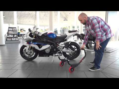 Motorcycle Rear Paddock Stand ConStands Falcone for BMW S1000R tutorial