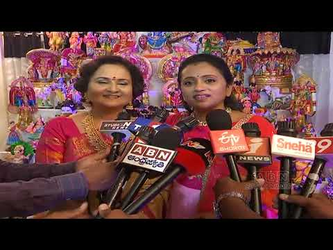 Anchor Suma Launches Dolls Festival | Diwali Special Dolls Festival Hyderabad | ABN Entertainment