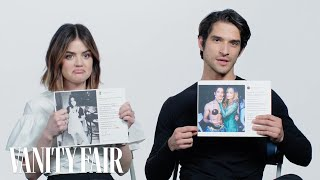 Download Lagu Lucy Hale and Tyler Posey Explain Their Instagram Photos | Vanity Fair Gratis STAFABAND