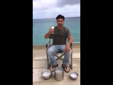Frank grillo takes ALS ice bucket challenge