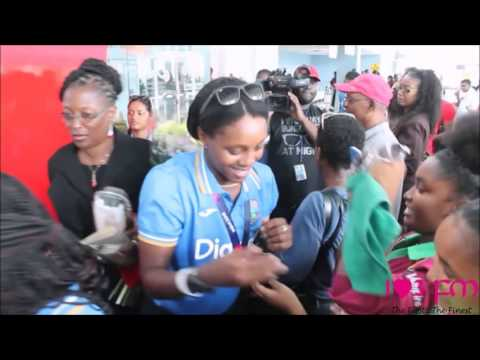 WI Women arrive in Trinidad after successful World T20 2016
