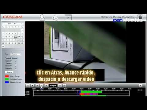 Como reproducir video desde NVR Foscam