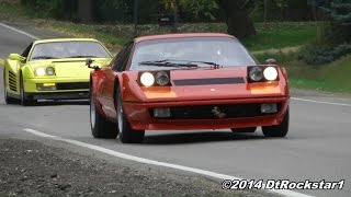 Ferrari 512 BB Boxer driven hard
