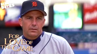 """For Love Of The Game: """"What's he looking at?"""" epic baseball scene (ft. Billy; Kevin Costner)"""