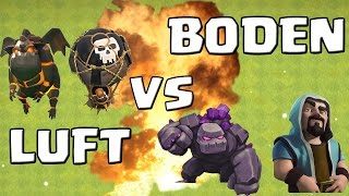 LUFT vs. BODEN! || CLASH OF CLANS || Let