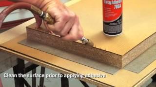 How To Miter Fold Wilsonart Laminate