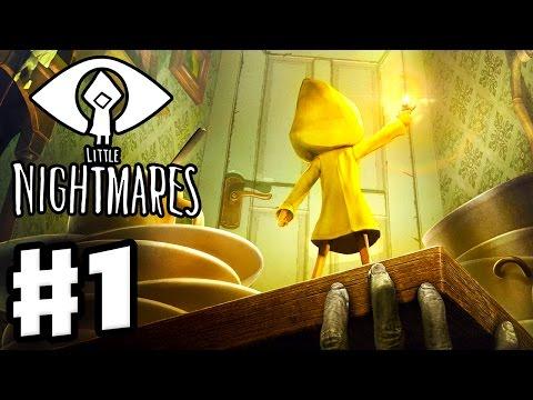 Little Nightmares - Gameplay Walkthrough Part 1 - Prison! (PC)