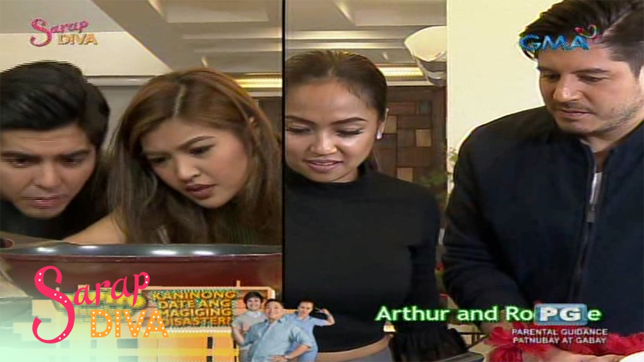 Sarap Diva: Cooking challenge with Winwyn Marquez and Rochelle Pangilinan